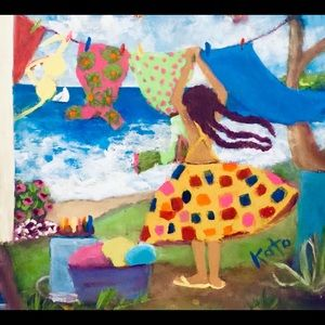 In The Morning Original Acrylic Painting Wall Art
